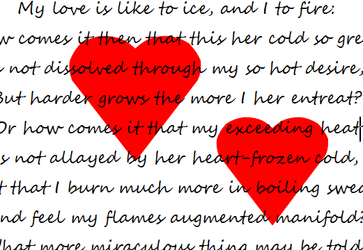 Konkurs Poezji I Prozy Miłosnej W Języku Angielskim