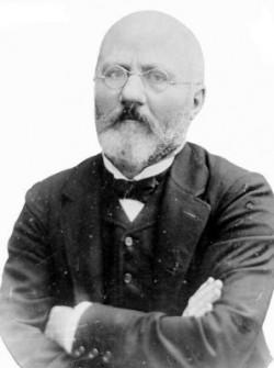 Doktor Henryk Jordan. Fot. ze zbiorów  Narodowego Archiwum Cyfrowego.