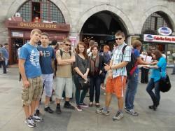 Wizyta w Turcji - przed Wielkim Bazarem w Istambule