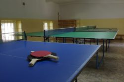 Sala do tenisa stołowego
